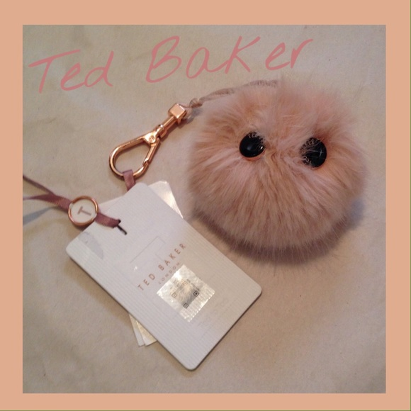 dbee4b4c57c1 NWT TED BAKER Fluffy Character Bag Charm