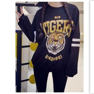 Tops - Tiger Sweater Top 💛