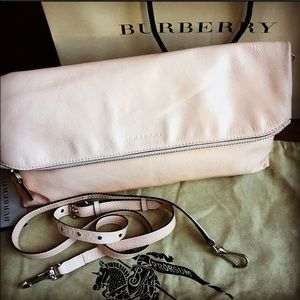 🔶Authentic Burberry Petal pink clutch/crossbody🔶