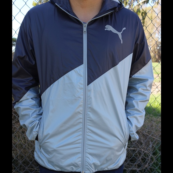 67207353c19 Men s Puma Windbreaker