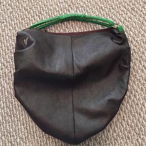 T-Bags Handbags - T-bags brown leather hobo bag
