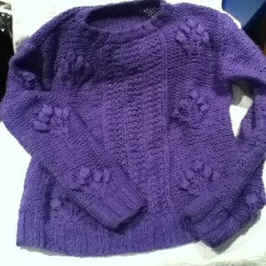 Sweaters - Purple sweater