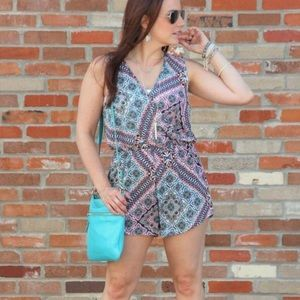 Other - Boutique Print Romper