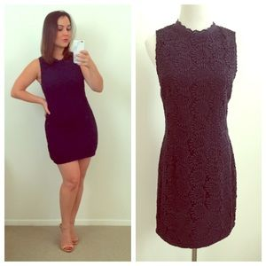 Dolce Vita Dresses & Skirts - Dolce Vita Navy Blue Crochet Mini Dress