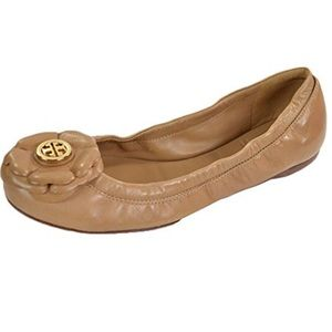 Tory Burch Shelby Patent ballet flats