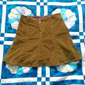 Athleta Dresses & Skirts - Brown corduroy Athleta mini skirt