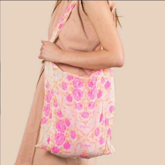 Free People fabric bag.