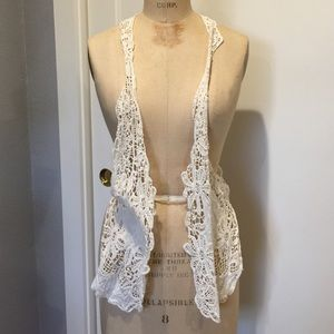 Free People Other - Free People Lace Vest