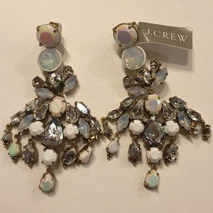 J. Crew Jewelry - J. Crew Crystal Chandelier Earrings NWT