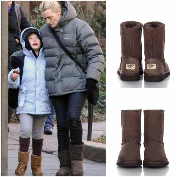 New Ugg Australia Classic Short Boots Chocolate