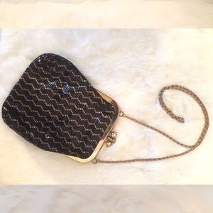 VINTAGE CHAINMAIL EVENING BAG!