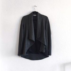 Helmut Lang shawl drape jacket