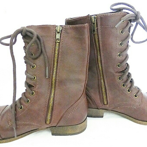 JustFab - Just fab boots brown winter boots size 6.5 from