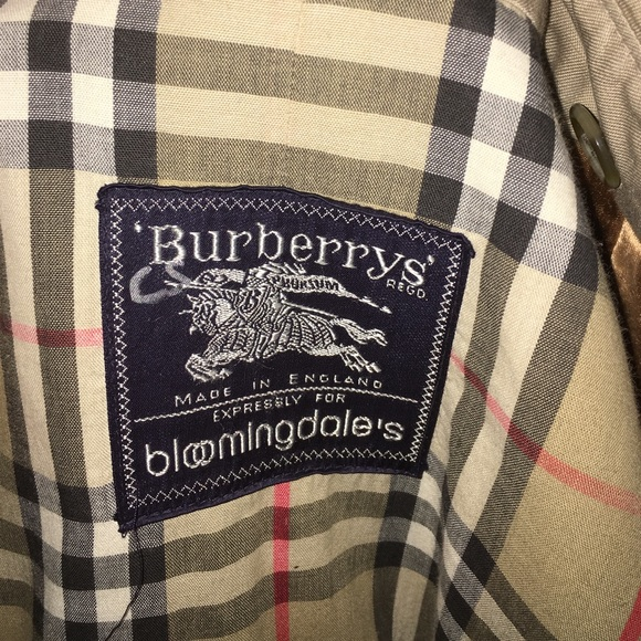eb2945d0 BURBERRY coat made expressly 4 Bloomingdales