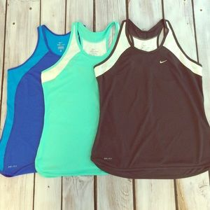 Nike Tops - Bundle of Nike Dri-Fit Tanks
