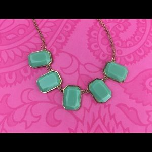 Lil+Lo Jewelry - Green Statement Necklace by Lil+Lo NWT