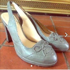 Vintage Gray Heels