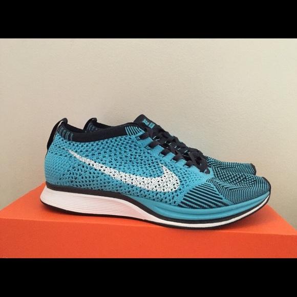 Nike Shoes   Nike Flyknit Racer Blue