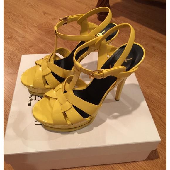Ysl Yellow Patent Tribute