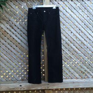 J. Crew Black Cords Pants
