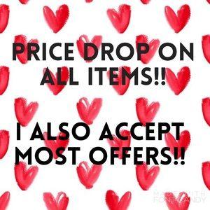 Slashing prices in my closet!!