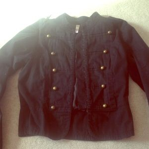 Fitted Band Jacket