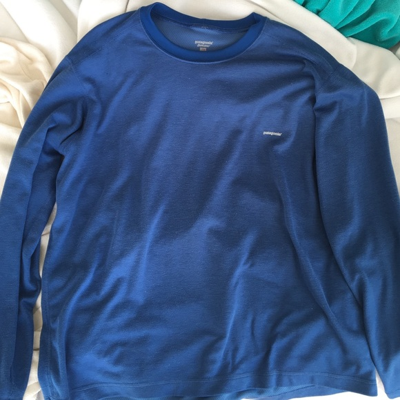 78 off patagonia other patagonia capilene shirt size for Men s shirt sizes explained