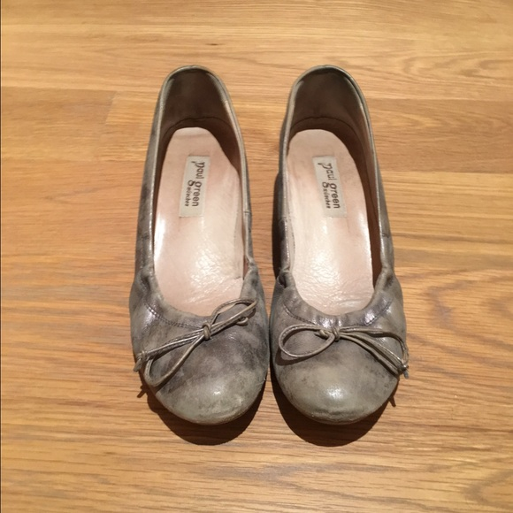 91 off paul green shoes paul green wedge ballet flats from lauren 39 s closet on poshmark. Black Bedroom Furniture Sets. Home Design Ideas