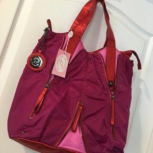 Blumarine Handbags - BLUGIRL BLUMARINE pink nylon purse