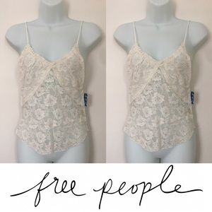Free People Tops - Free People Lace Tank