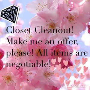 Closet Cleanout! 💕