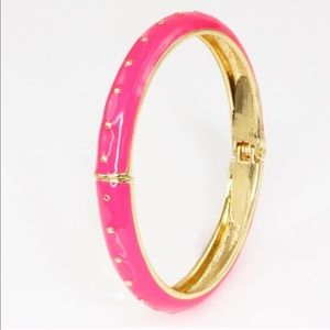 Adia Kibur Jewelry - BOGO Free!!  Adia Kibur Enamel Dotted Bangle
