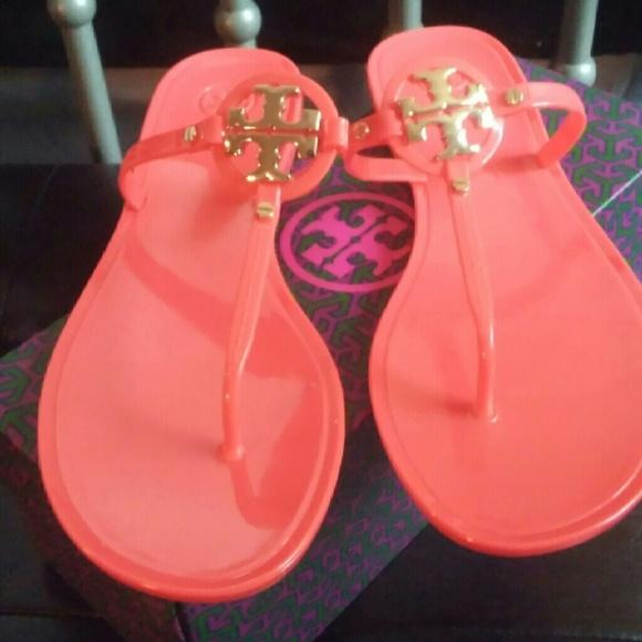 8f8a1df7fca7 Tory Burch Mini Miller Jelly thong sandals. M 56bf9cd678b31cbc46009d0b