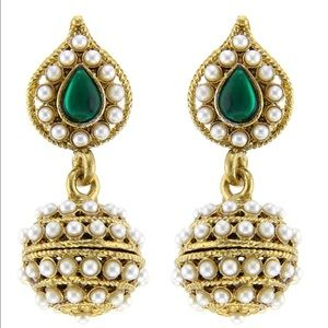 Unique Bollywood earrings