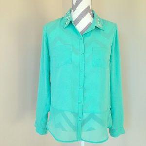 Candie's Button Up Shirt