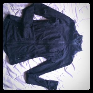 Zip-up Lululemon jacket size 2