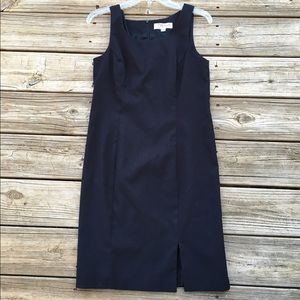 Taiga Dresses & Skirts - Black sleeveless dress with slit