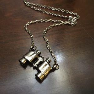 Jewelry - Super cute binocular necklace