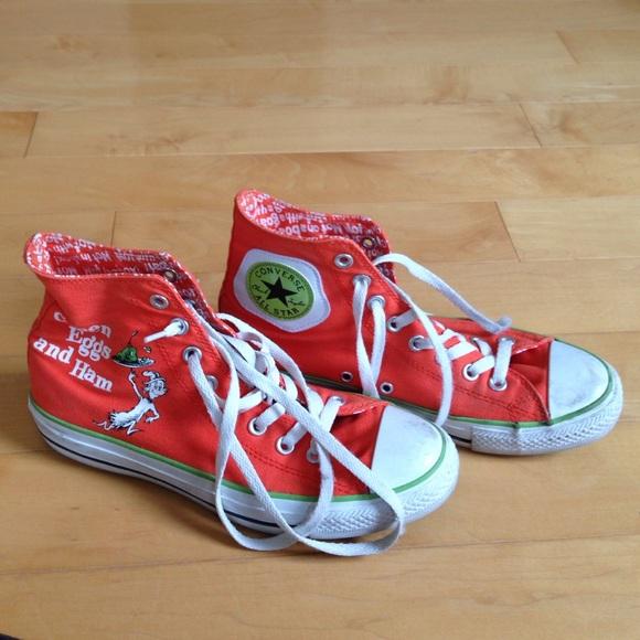 Converse Shoes - Green eggs and ham dr. Seuss converse c73d848dc