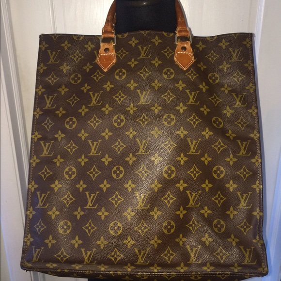 cf99c1ca4061 Louis Vuitton Handbags - Vintage Louis Vuitton Sac Plat Tote Bag