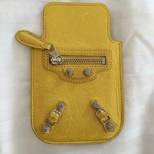 Yellow Balenciaga iPhone 5 Case