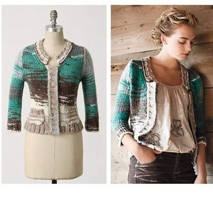 Anthropologie Pondside Cardi