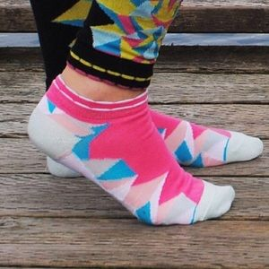 Peony and Moss Accessories - Peony and Moss Geode ankle socks
