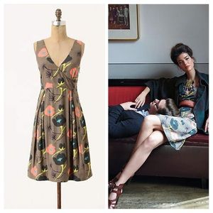 Anthropologie Ajisai Dress