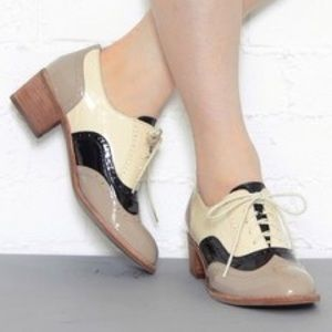 Jeffrey Campbell Shoes - I ❤️ JC Williams Taupe, Black and Beige