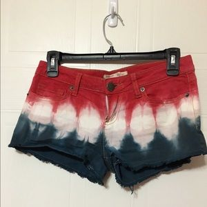Pants - Red, white, and blue shorts!