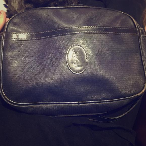 Yves Saint Laurent Bags Vintage Ysl Navy Blue Bag Poshmark