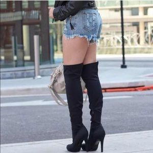 Shoe Dazzle Shoes - Over the knee boots