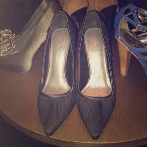 Adrienne Maloof Shoes - Black Adrienne Maloof heels size 6