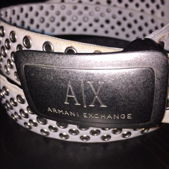 68% off Armani Exchange Accessories - Armani Exchange belt ...
